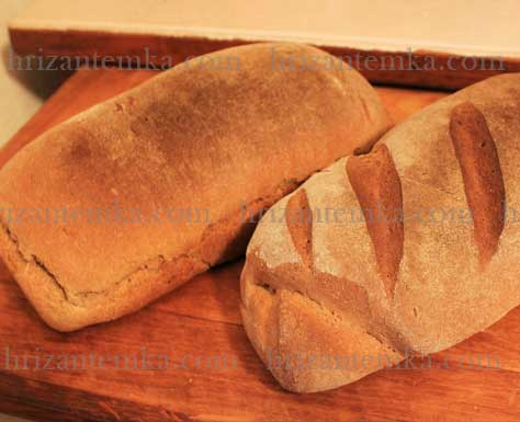 Пшенично-житній хліб: простий рецепт