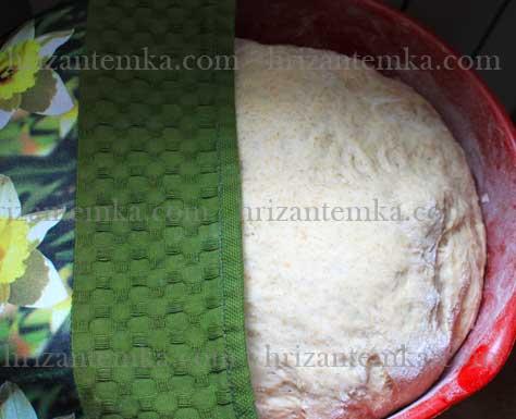 Хліб з цільнозернового борошна