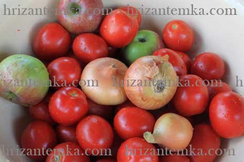 Домашній кетчуп із помідорів