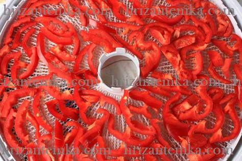 Як сушити болгарський перець в сушарці