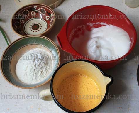 Як приготувати бісквіт простий рецепт