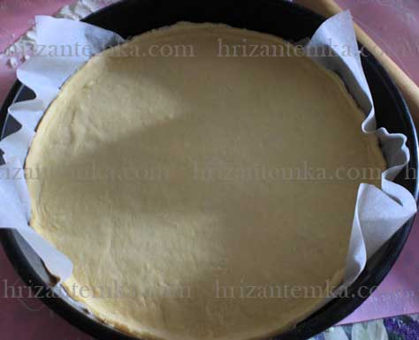 Піца на сухих дріжджах в духовці