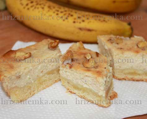 Банановий сирник