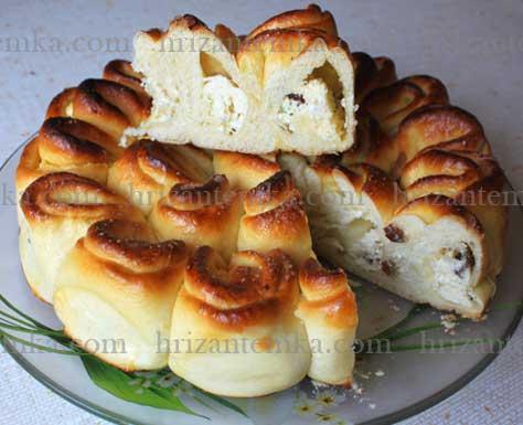 Пиріг хризантема солодкий