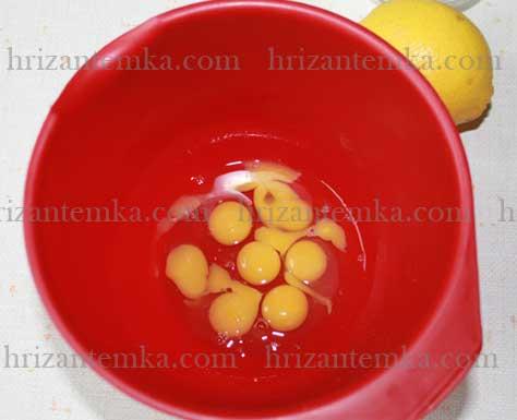 Домашній майонез із лимонним соком: перепелині яйця
